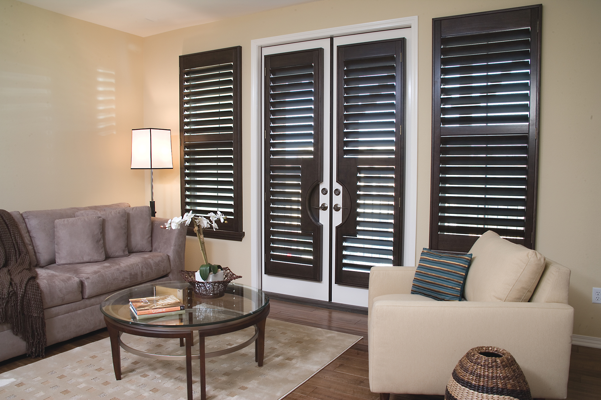 French Door Shutters Blinds By Grace